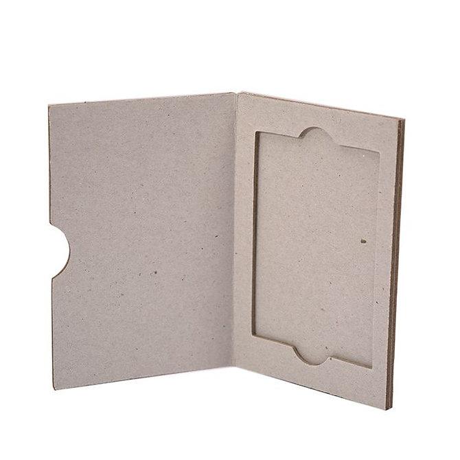 SLIDERITE SUPA MEGA SLIDE - kartonpapír postázó 1 db SUPA MEGA tárgylemezhez 76 x 52 mm