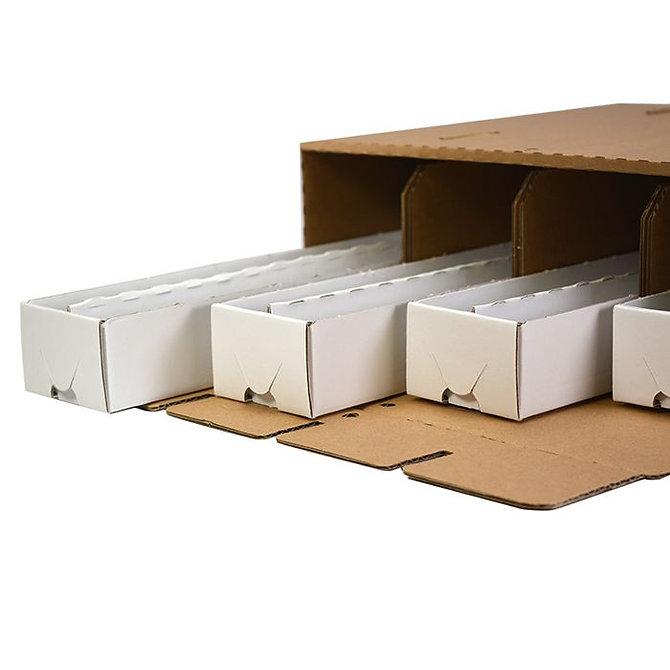 OMNISTOR 4 STANDARD natúr kartonpapír doboz, összeállított