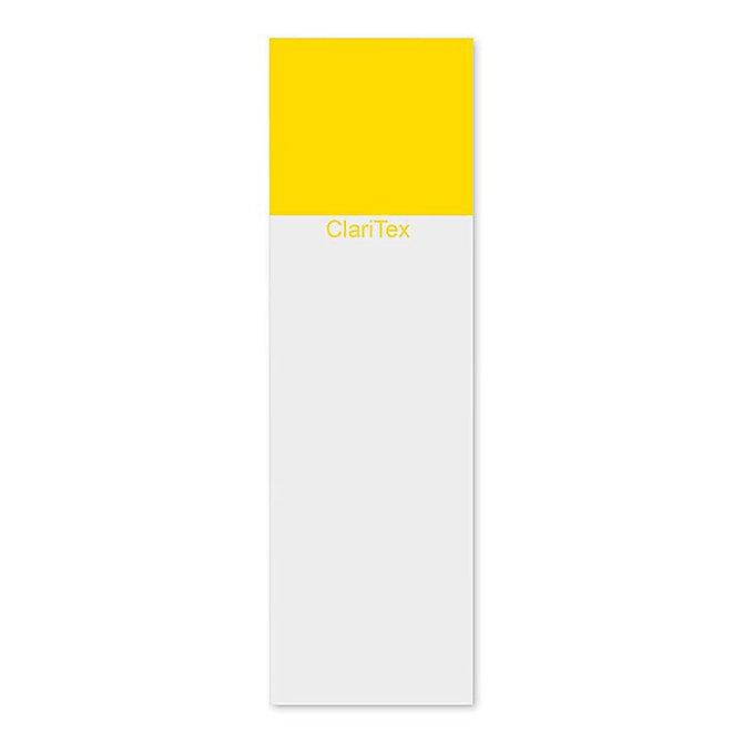 CLARITEX Colourcoat tárgylemez - sárga mattírozással