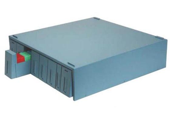 OMNISTOR SUPA MEGA fém szekrény (160 blokk vagy 1800 tárgylemez tárolására) - kék