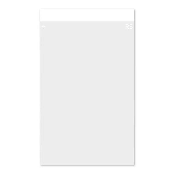 HISTOBOND + SUPA MEGA pozitív töltésű tárgylemez, mattírozott, fehér