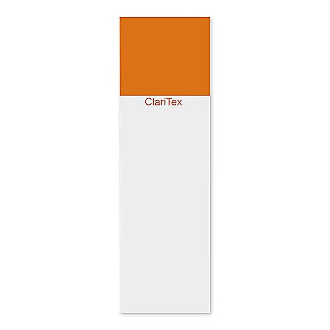 CLARITEX Colourcoat tárgylemez - narancssárga mattírozással