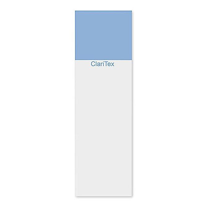 CLARITEX Colourcoat tárgylemez - kék mattírozással