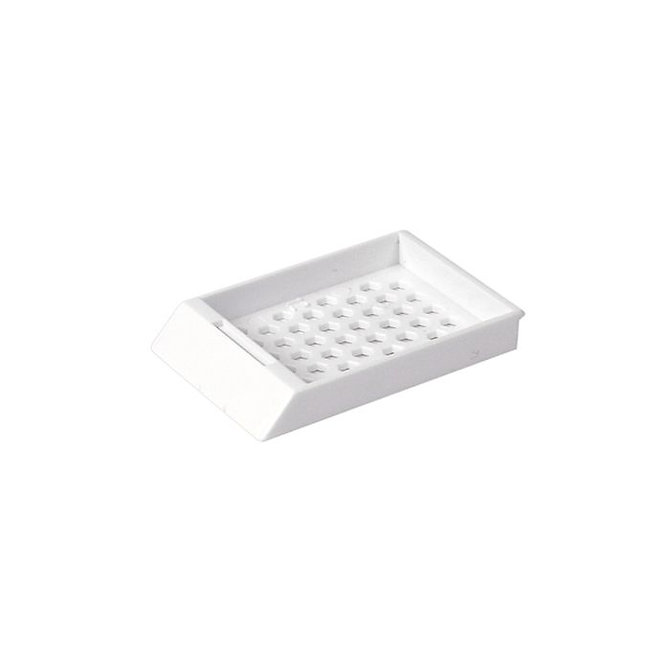 SYSTEM II HEX beágyazó kazetta fedél - fehér (ömlesztett csomagolás)