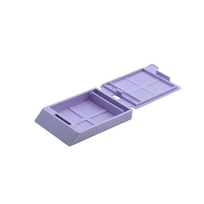 SYSTEM III mikrobiopsziás beágyazó kazetta - levendula (ömlesztett csomagolás, tintasugaras nyomtatásra)