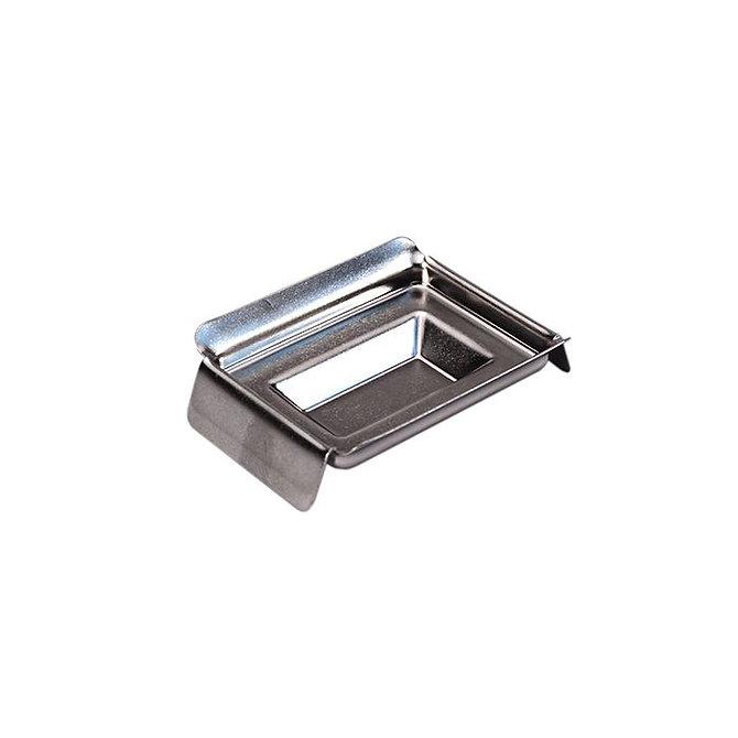 Rozsdamentes acél blokk kiöntő forma Standard kazettához 10 x 24 x 5 mm