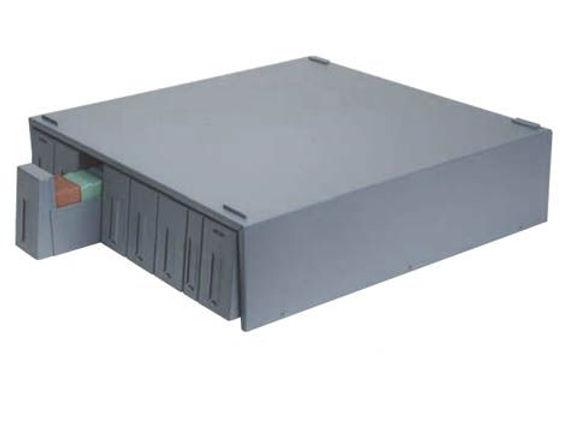OMNISTOR SUPA MEGA fém szekrény (160 blokk vagy 1800 tárgylemez tárolására) - szürke