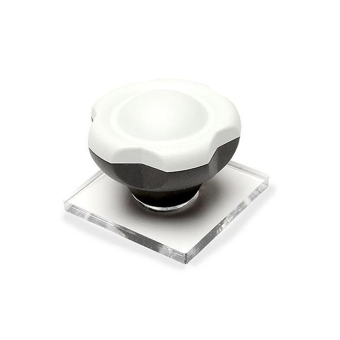 TRUSLICE - Mintarögzítő lap, 50 mm-es, átlátszó plexi lap, fogantyúval