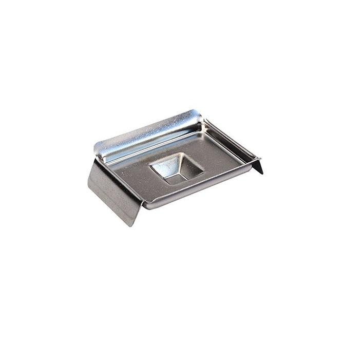 Rozsdamentes acél blokk kiöntő forma Standard kazettához 7 x 7 x 5 mm