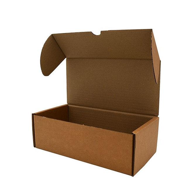 ECOSLIDE 3 kartonpapír tárgylemez tároló doboz tárgylemez tartó zsebekhez, lapra csomagolt