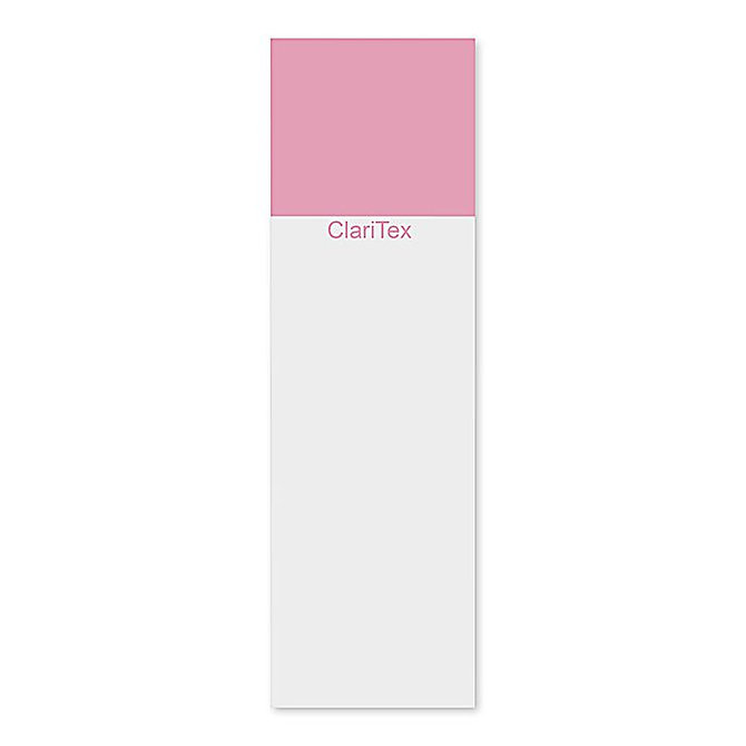 CLARITEX Colourcoat tárgylemez - pink mattírozással