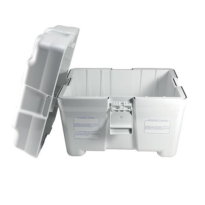 BIOCLINIC Tároló - Fertőző anyagok szállítására, akrilnitril-butadién-sztirol (ABS), hőtartó, légmentesen záródó