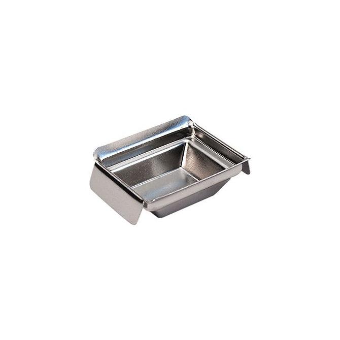 Rozsdamentes acél blokk kiöntő forma Standard kazettához 30 x 24 x 9 mm