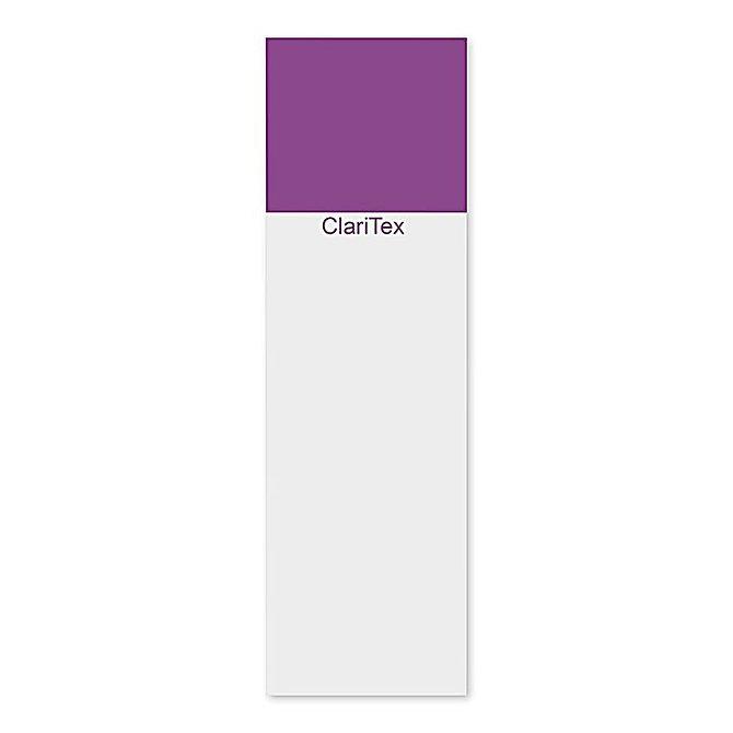 CLARITEX Colourcoat tárgylemez - lila mattírozással