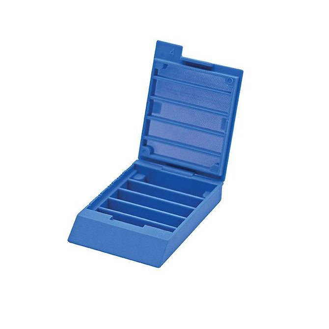 CELLSAFE 5 biopsziás kazetta 5 kamrás - kék