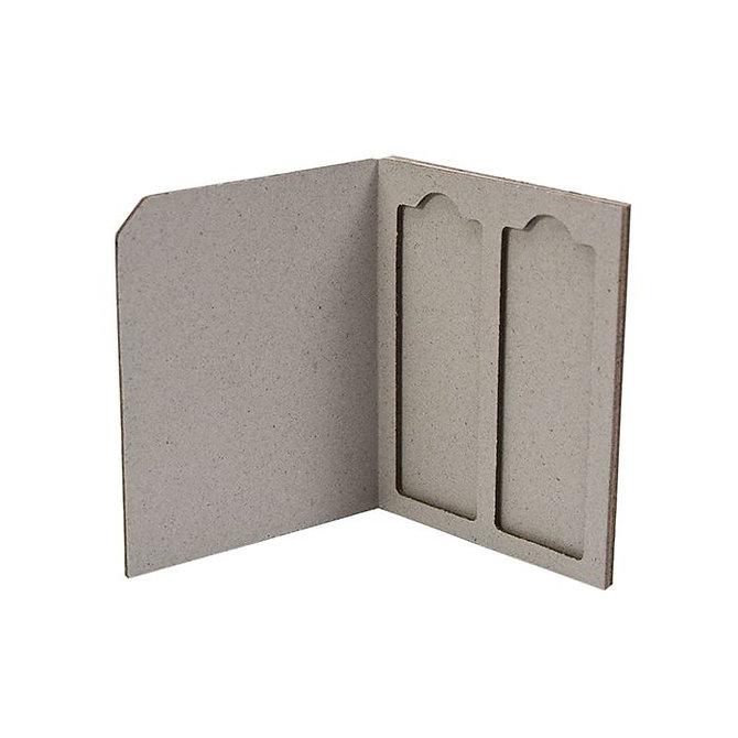 SLIDERITE 2 - kartonpapír postázó téka 2 db tárgylemezhez