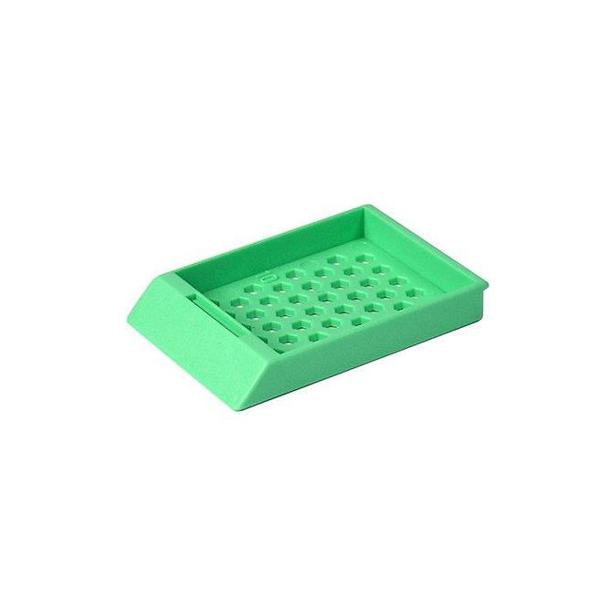 SYSTEM II HEX beágyazó kazetta- zöld (adagolócsőben)