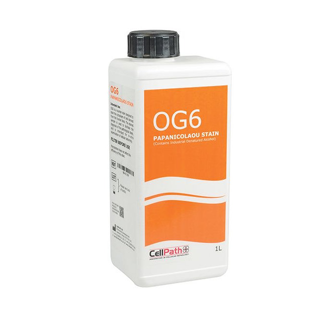 PAPANICOLAOU OG6 STAIN (ORTHO) - 1L