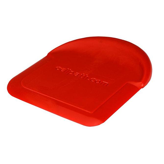 WAXAWAY Paraffin eltávolító kaparó - piros műanyag