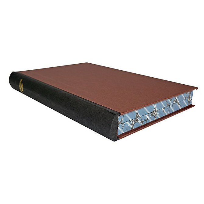 HiQA FiloSlide™ 100 Box - könyv formájú tároló postázó doboz fából  - 100 tárgylemezhez, fekete