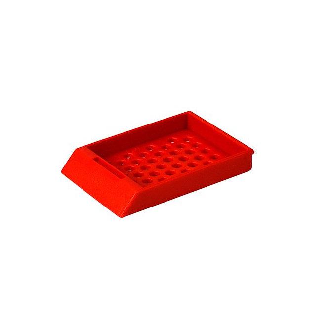 SYSTEM II HEX beágyazó kazetta - piros (ömlesztett csomagolás)