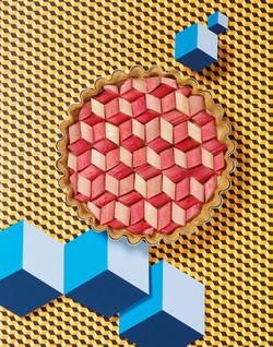 Cubed Pie Rhubarb RET11x14LR