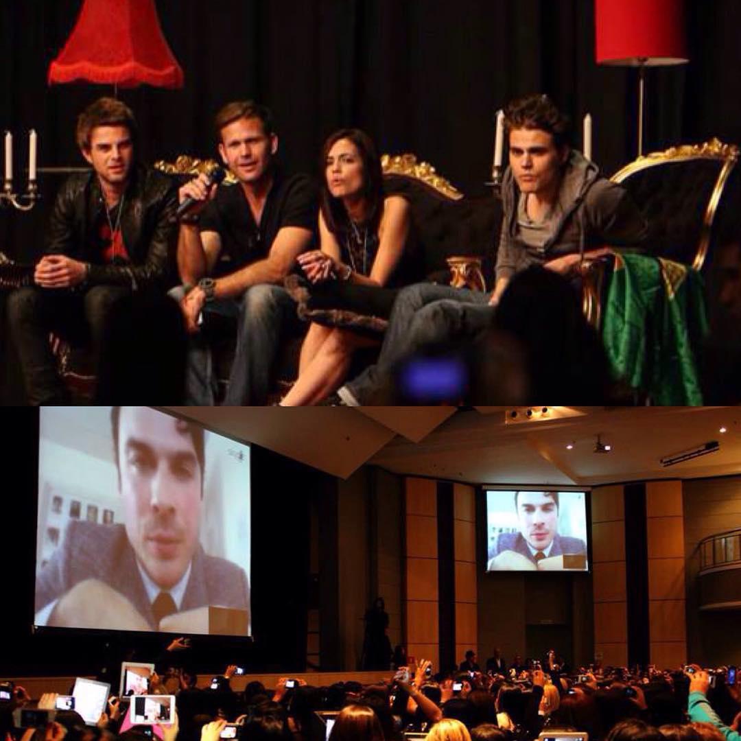 Convenção The Vampire Diaries