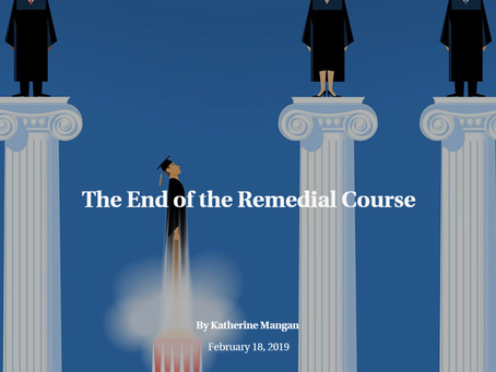 The End of the Remedial Course