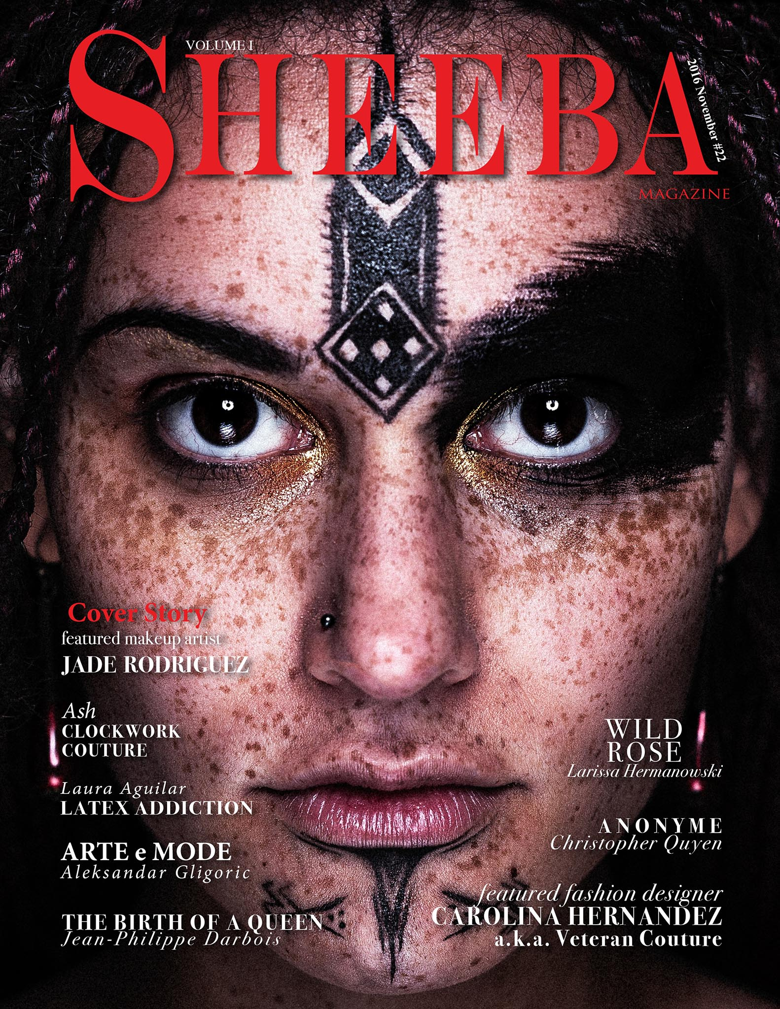 Couverture Nov 2016 SHEEBA