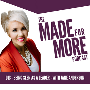 013: Being Seen As A Leader