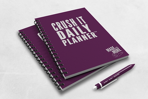 Crush It Daily Planner