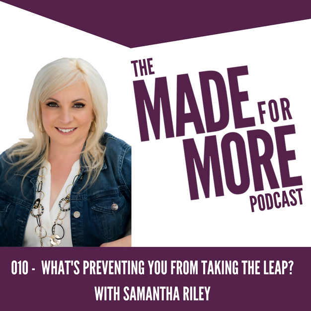 010: What Preventing You From Making the Leap?