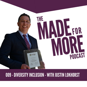 009: Diversity and Inclusion with Justin Lokhorst