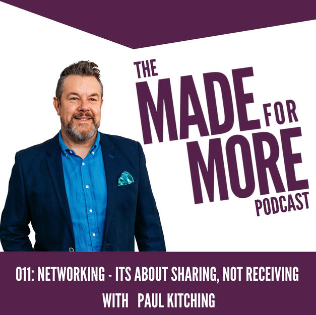 011: Networking - It's About Sharing, Not Receiving