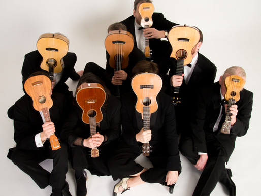 George Hinchliffe's Ukulele Orchestra of Great Britain - 14/08/2022
