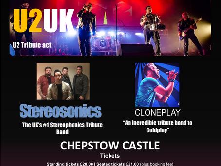 """Rock Legends"" - U2UK, Cloneplay, Stereosonics - 19/08/2022"