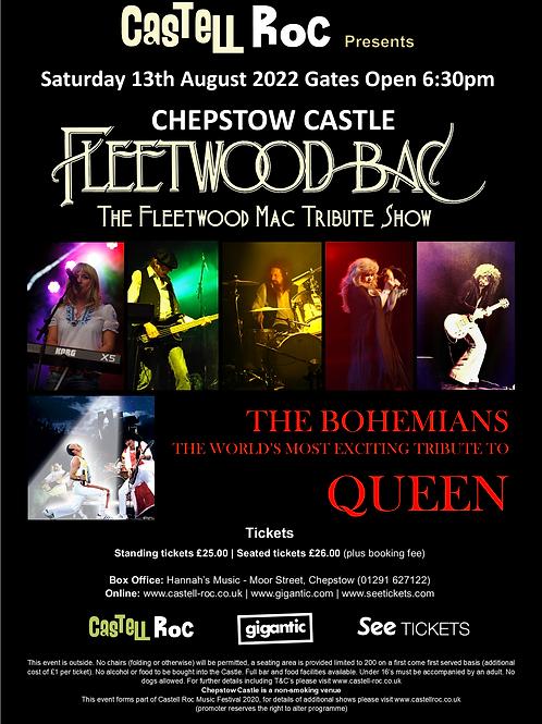 Fleetwood Bac & The Bohemeians - 13/08/2022 19:30