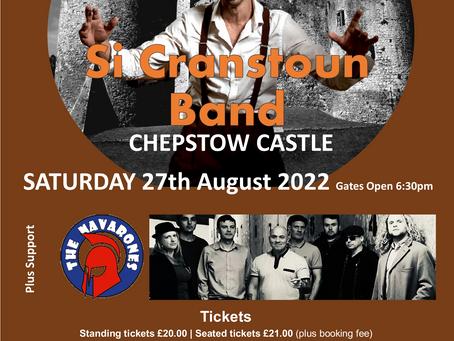 Si Cranstoun Band/The Navarones - 27/08/2022
