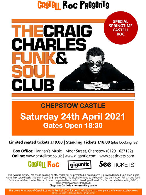 Craig Charles Funk and Soul Club - 24/04/2021 19:30