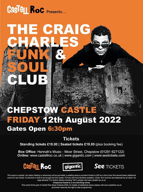Craig Charles - 12/08/2022