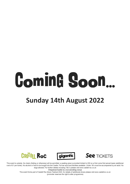 Coming Soon 140822