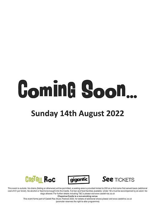Coming Soon - 14/08/2022