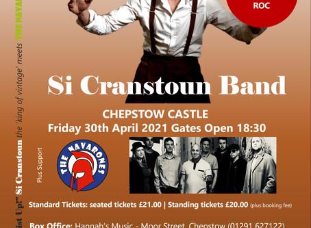 Si Cranstoun Band/The Navarones - 30/04/2021 SPECIAL SPRINGTIME EVENT