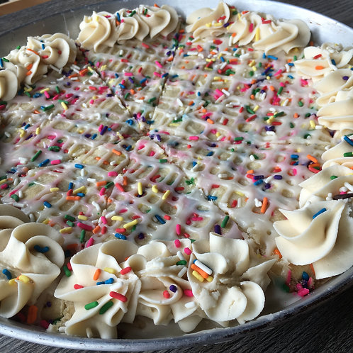 Deep Dish Sugar Cookie Pie