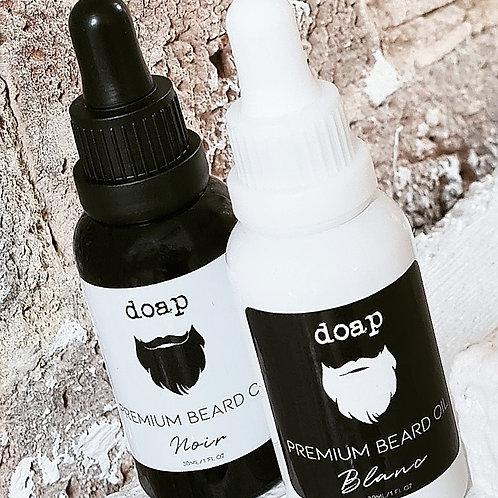 Organic Premium Beard & Face Oil 30ml