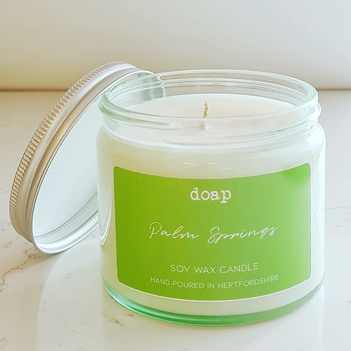 Palm Springs Vegan Soy Wax Candle 250g