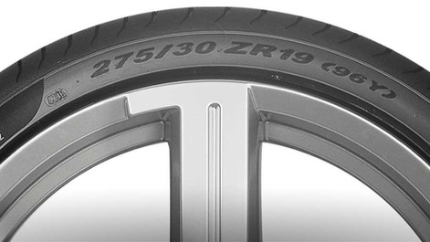 Entenda o significado das letras e números do pneu