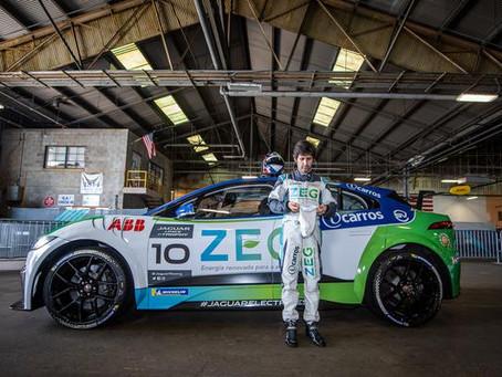 Sérgio Jimenez conquista pole e consolida liderança do Jaguar I-PACE eTROPHY