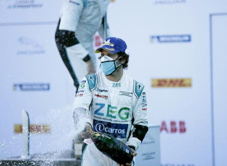 Jimenez vence segunda prova em Berlim e amplia liderança no Jaguar I-PACE eTROPHY