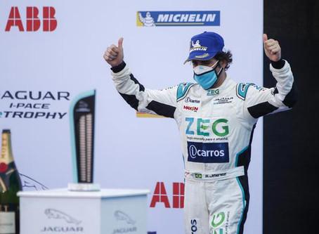 Jimenez fecha a temporada com o Vice Campeonato na Jaguar I-PACE eTROPHY